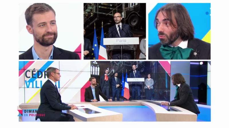 EDOUARD PHILIPPE MAIRE DE PARIS VILLANI MEDIA DIXIT WORLD