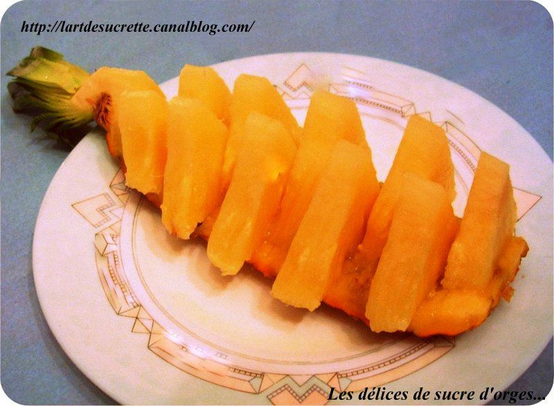 Ananas barquette