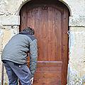fabrication d une porte louis XIII