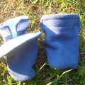 Booties en polaire