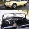 JAGUAR - Type E V12 cabriolet - 1972