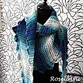 Mon side-to-side-crochet shawl