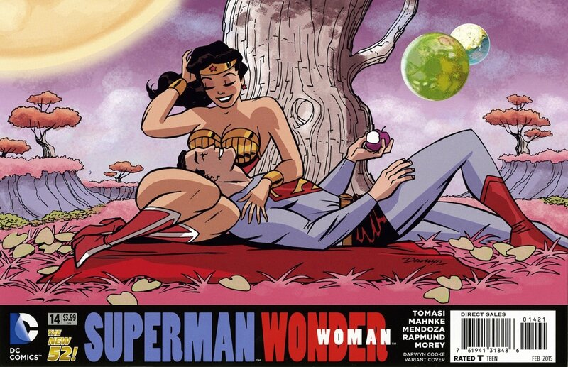 superman wonder woman 14