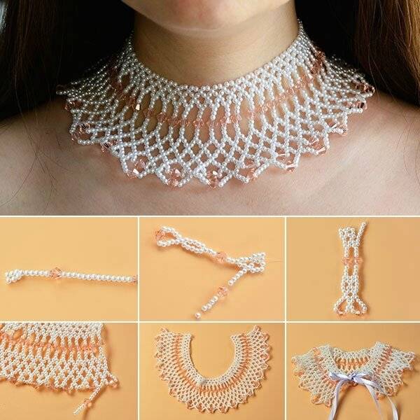 How-to-Make-a-Charming-Pearl-and-Glass-Bead-Weaving-Choker-Necklace-for-Wedding