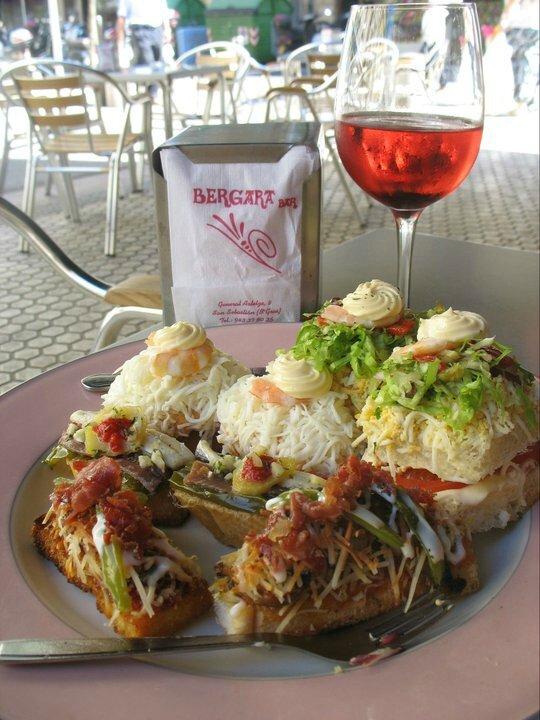 San Sebastien, bar et Pintxos a