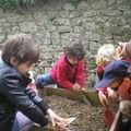 Au jardin de l'école, avril 2011