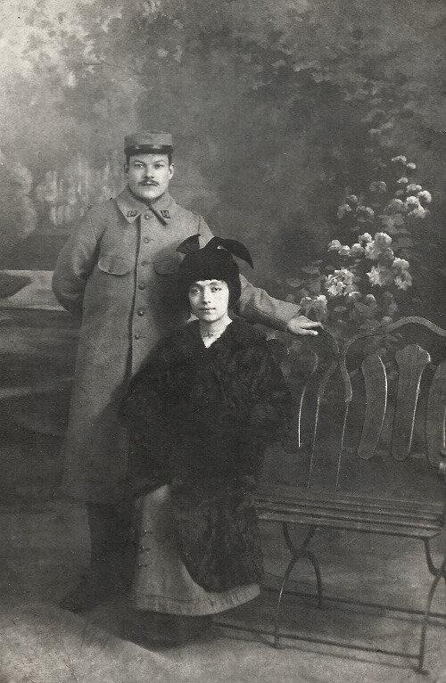 Marius Granjon et Élise