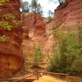 Roussillon, sentier des ocres