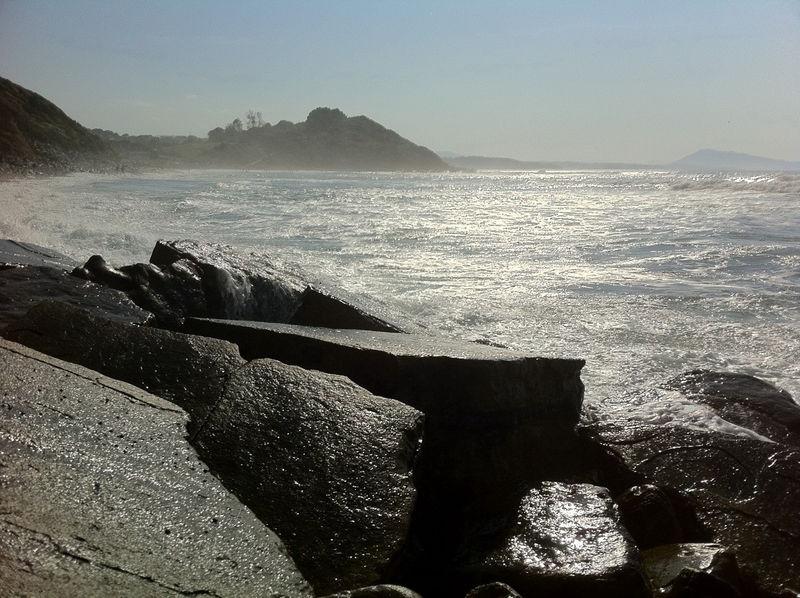 Guéthary, plage de Cenitz (64)