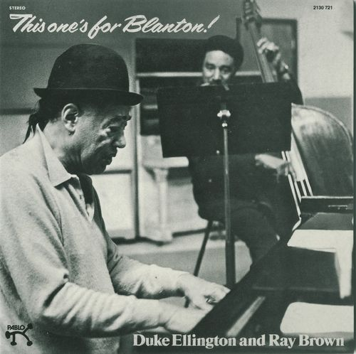Duke Ellington and Ray Brown - 1972 - This one's for Blanton! (Pablo)