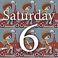 Saturday six #12