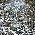 voie romaine entre Chamalières et Villars