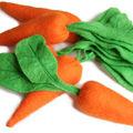 Feutrine # les carottes 100% carotène