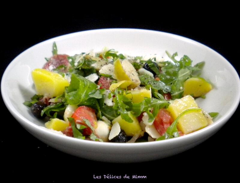 Salade de pommes de terre à l'italienne 3