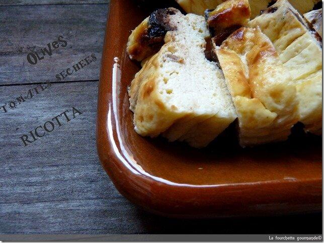 Flan à la ricotta La fourchette gourmande