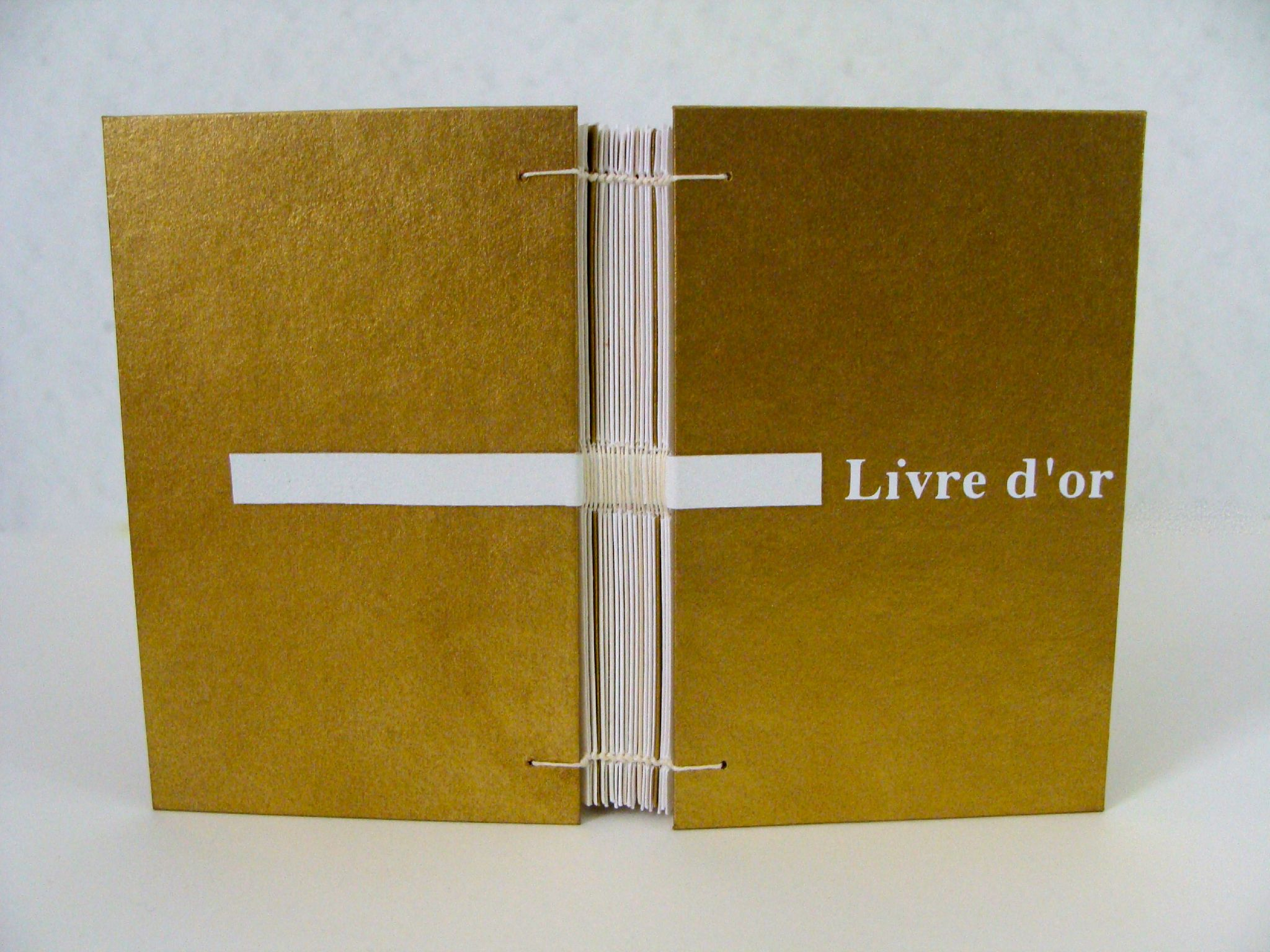 livre d'or original