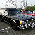 Chevrolet caprice classic corbillard-1979