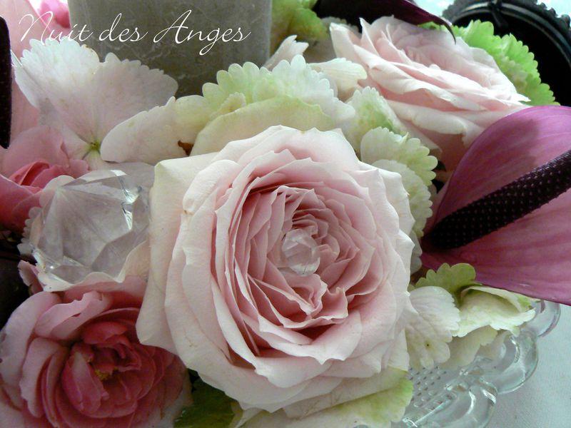Nuit des anges décoratrice de mariage décoration de table féérique romantique 006