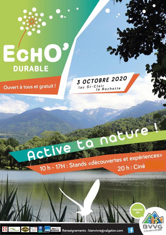Affiche Echo'durable compressée