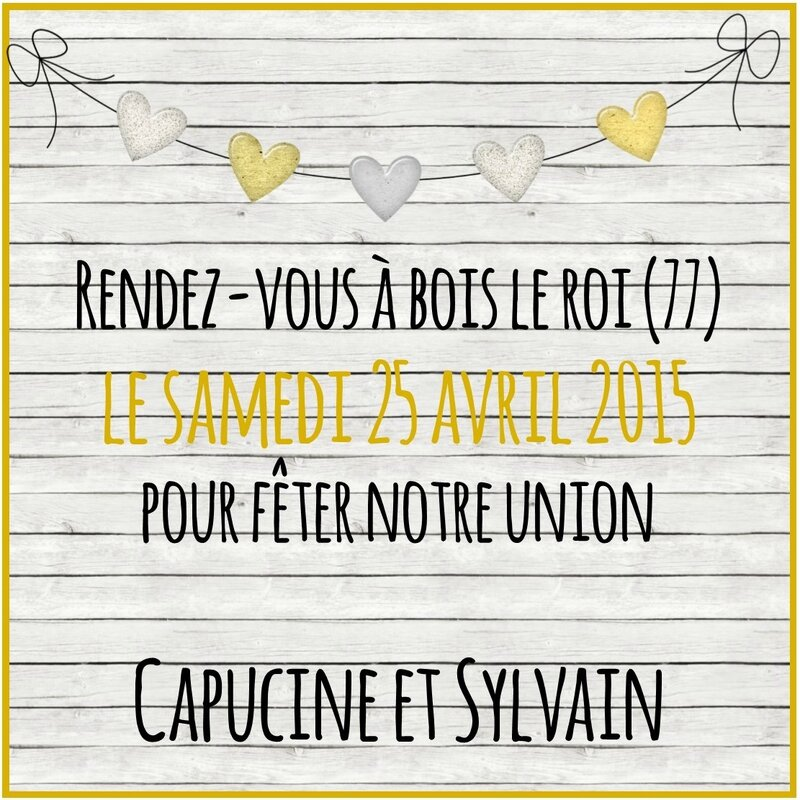 save the date Capucine