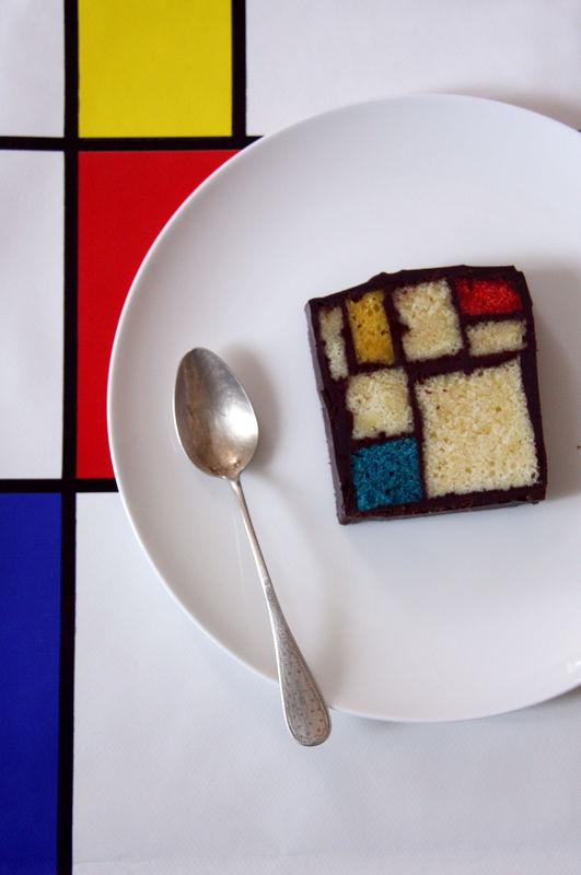 Mondrian Cake Beau à La Louche