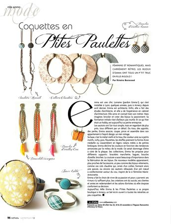 ACTIVES MAG septembre 2012 article