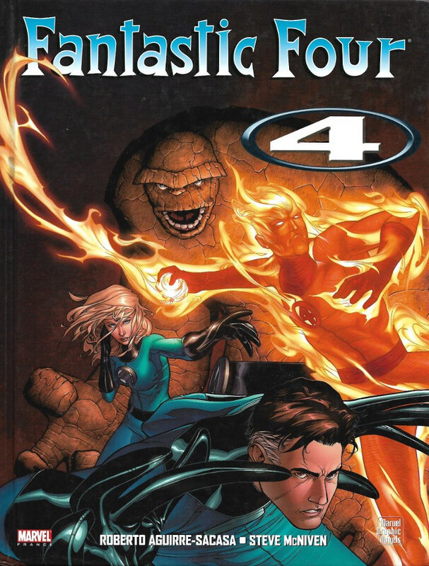 graphic novel fantastic four quatre