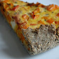 Les petits plats d'hiver : tarte potimarron gorgonzola