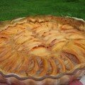 Tarte aux coings