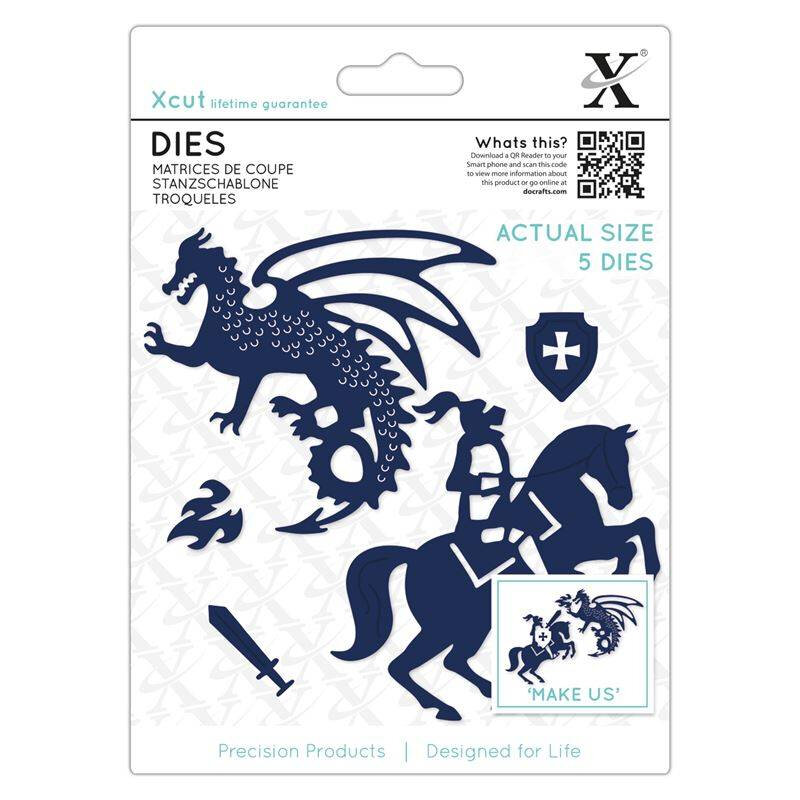 xcut-dies-knight-dragon-5pcs-xcu-503343