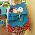 Le sac à dos d'Olivia