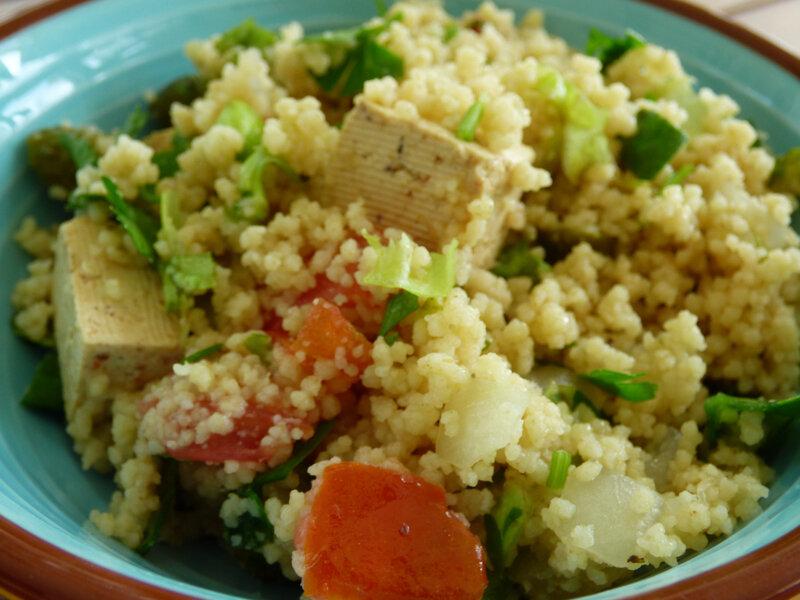 taboulé tofu menthe