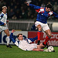 20 novembre 1991 FRANCE ISLANDE ... GRAND CHELEM EN MATCHES DE QUALIFICATION