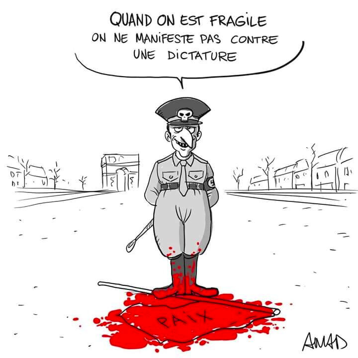 fragile sous la dictature