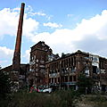 BERLIN, usine abandonnée (Allemagne)