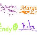 Sticker prénom personnalisable