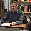 L'établi, de robert linhart, lu par guillaume gilliet dans la librairie l'établi d'alfortville (94)