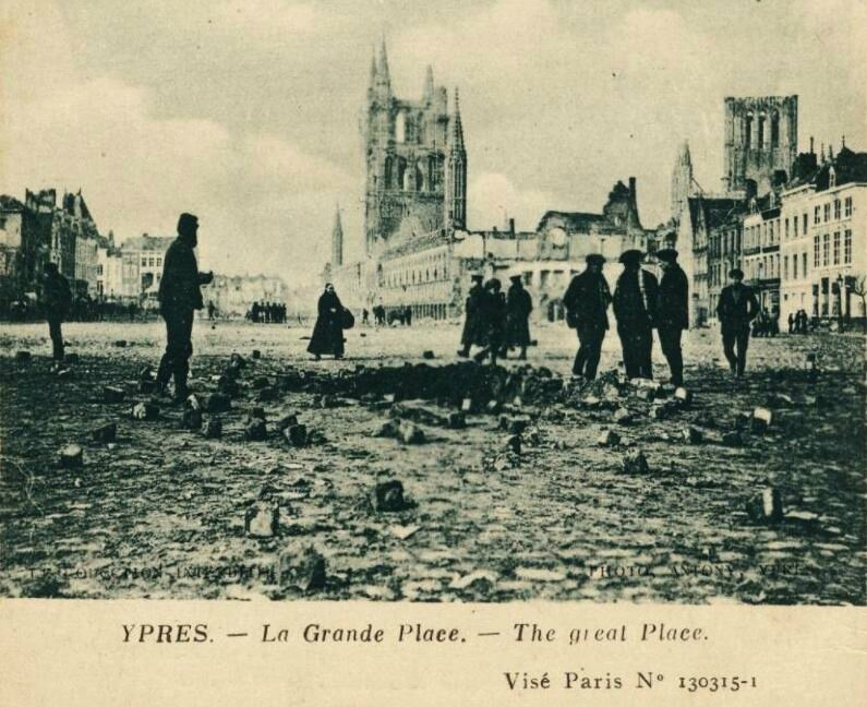 Ypres grd place 1919
