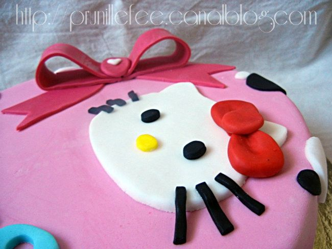 hello kitty pâte à sucre