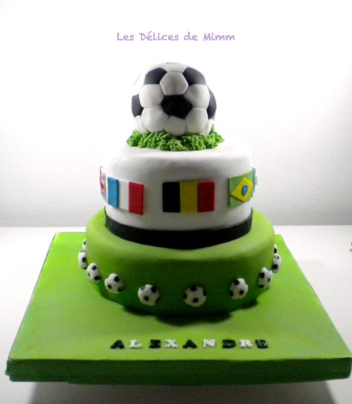 Gâteau Mundial 2018 8