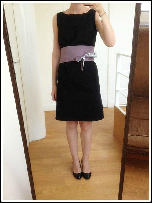 Robe japonaise et ceinture Obi (7)