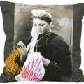 Mimi queffelec, 1ère reine des brodeuses en 1909 [famille briec l'isle]