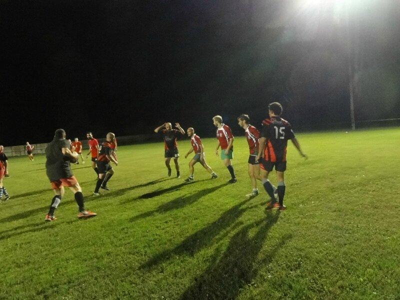 BEER (rouge) : Droite à Gauche - Inaki Cornu, Arnaud Hillon, Bastien Petrissans, Alexis Corrihons