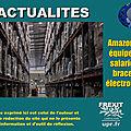 Amazon veut équiper ses salariés de bracelets électroniques
