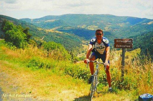 1699) vélo Mas de Tence (Ardèche)