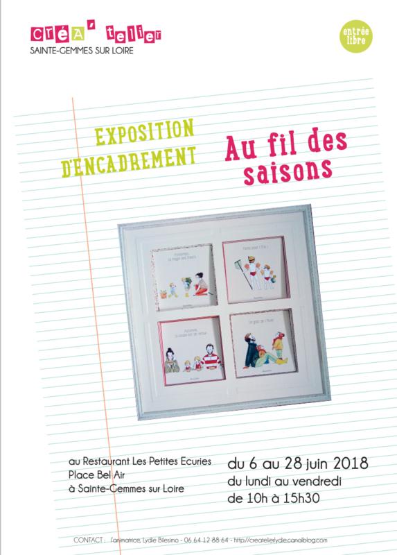 Exposition CréA'telier Ste Gemmes sur Loire 2018