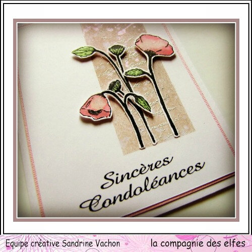 Carte Yolande SINCERES CONDOLEANCES (3)