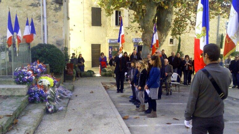Cérémonie 11 novembre 2015 à Lagnes
