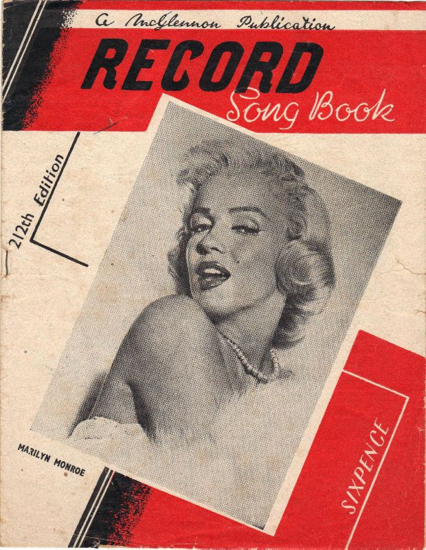 Record song book (usa) 2012