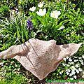 Un foulard au crochet pour eva